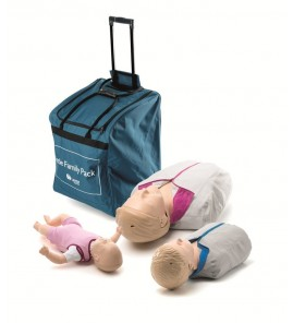 Pack famille little Laerdal - Anne et Junior QCPR et new baby