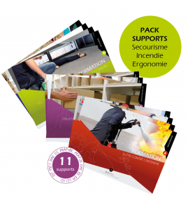Pack supports Secourisme - Incendie - Ergonomie