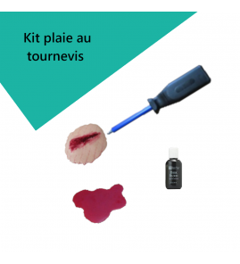 Kit plaie au tournevis