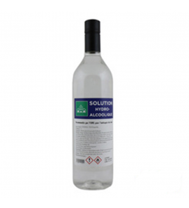 Solution hydroalcoolique 1 litre