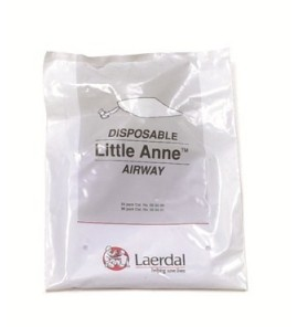 Voies respiratoires Little Anne (lot de 96)