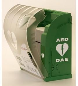 Armoire de protection extérieure pour défibrillateur avec alarme et chauffage