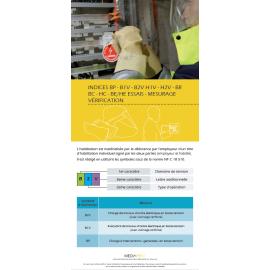 Dépliants Habilitation électrique B0-BS personnalisés - Lot de 100