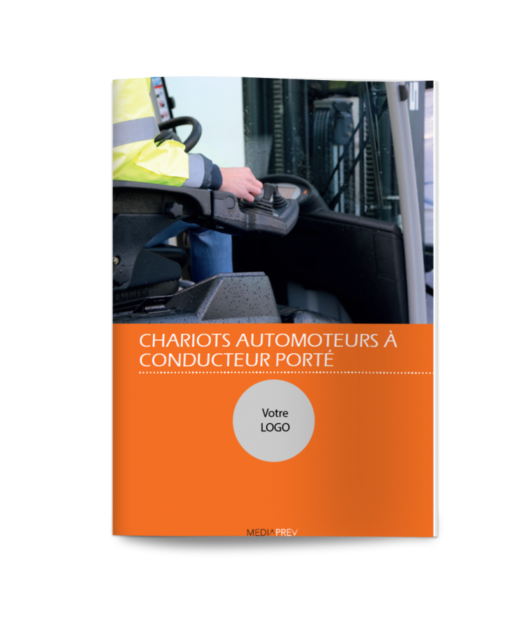 Chariot de manutention automoteurs à conducteur porté R489 - Guide Pratique PERSONNALISE
