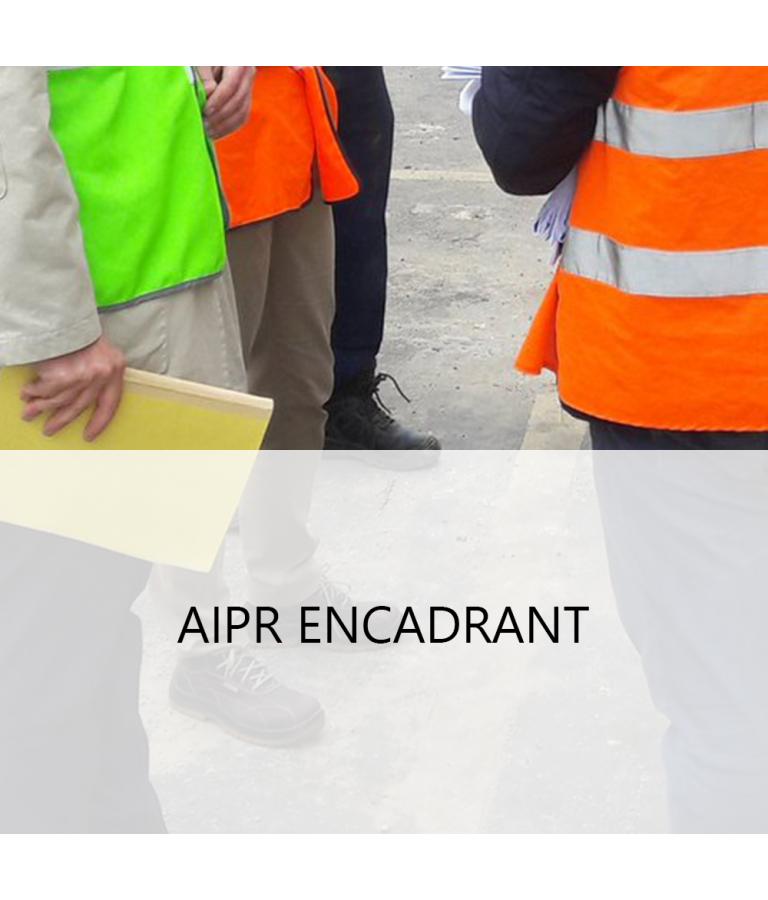 QCM d'entrainement à l'examen AIPR - Niveau  Encadrant