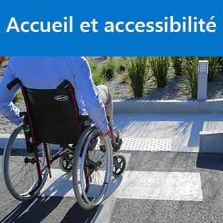 Accueil et accessibilité aux personnes en situation de handicap